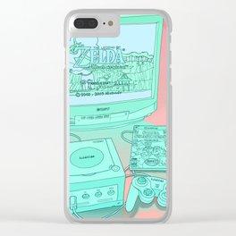 Gamecube Clear iPhone Case