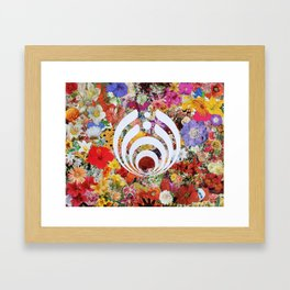 Innerbloom Bass Drop Framed Art Print