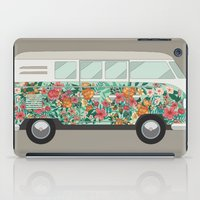 van iPad Cases featuring Hippie van by eARTh