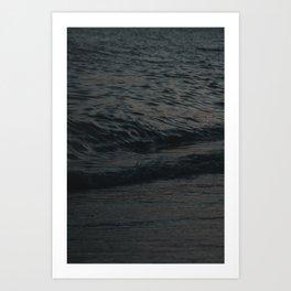 silky waves Art Print