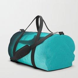 Whale shark silhouette Duffle Bag