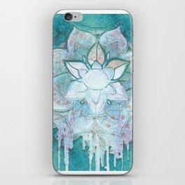 Turq Mandala iPhone Skin