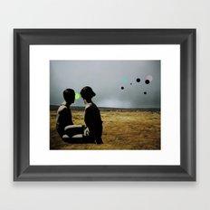 The Looking Field Framed Art Print