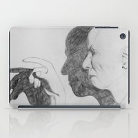 crowley iPad Cases featuring Mr. Crowley by Bela Zebub