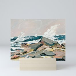 Eastern Point, Prout's Neck, Maine Mini Art Print