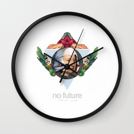 No future (Without a past) Wall Clock