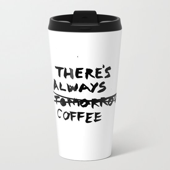 Coffee Metal Travel Mug