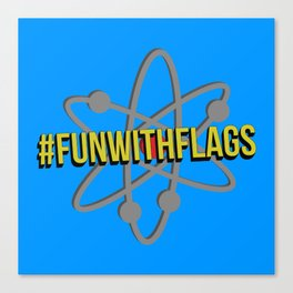 Fun With Flags Canvas Print