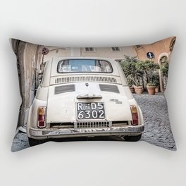 Fiat  in  Rome Rectangular Pillow