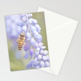 Purple Bee Stationery Cards