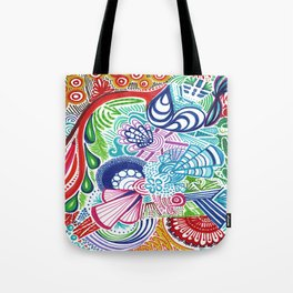 Happy Colors Tote Bag