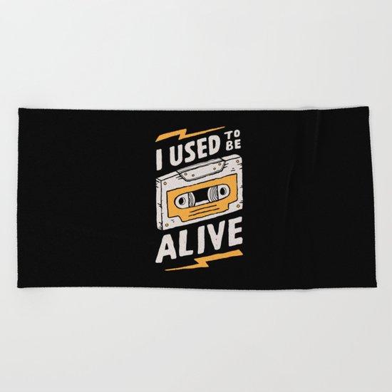Alive Beach Towel