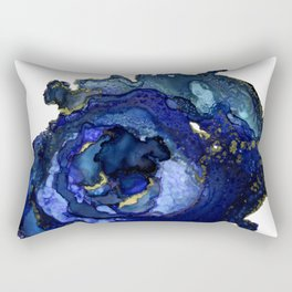 Blue Agate No1 Rectangular Pillow