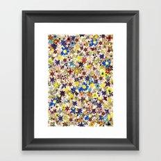 Flower Filed Framed Art Print