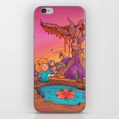 My wise friend and I iPhone & iPod Skin