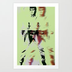 FPJ green machine Art Print
