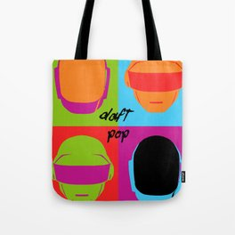 Daft Pop Tote Bag