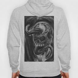 Charcoal Skull Of Death Hoody