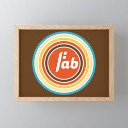 Be fab Framed Mini Art Print