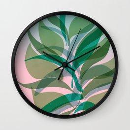 Planting Wall Clock
