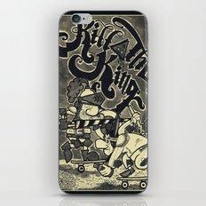 KILL THE KING AGAIN. iPhone & iPod Skin