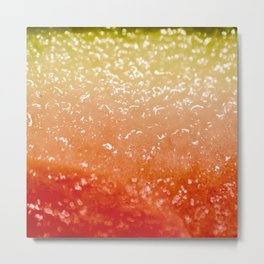 Watermelon Ombre Metal Print