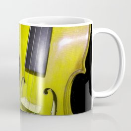 Yellow Violin Coffee Mug