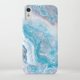 Ocean Foam Mermaid Marble iPhone Case
