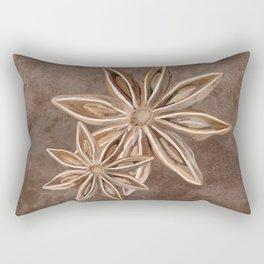 Star Anise Spice Rectangular Pillow