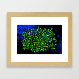 Summer Buggin' Framed Art Print