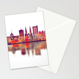 Strasbourg France Skyline Stationery Cards
