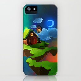 Little Night House iPhone Case