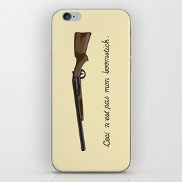 This is not my Boomstick iPhone Skin