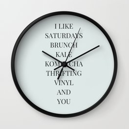 And You Wall Clock