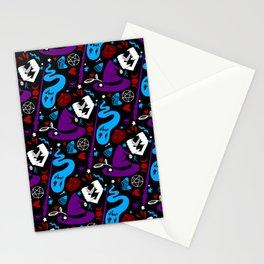 Spooky Pattern Stationery Cards