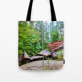 whistler train wreck, 2017 Tote Bag