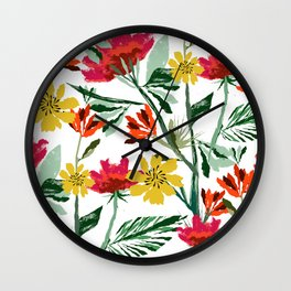 Next Spring Wall Clock
