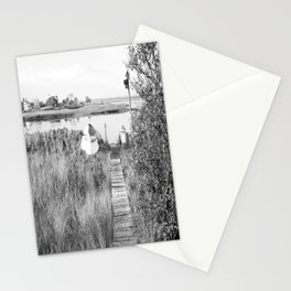 Walkway To The Basin Stationery Cards