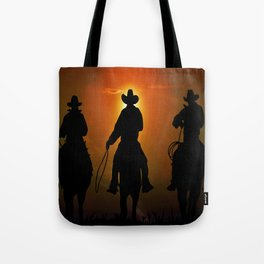 Riders To The West Tote Bag