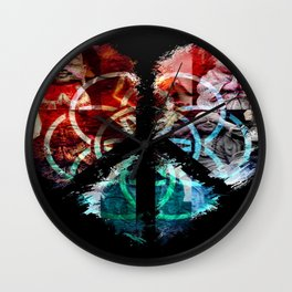 Heaven on Earth Wall Clock