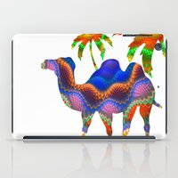 camel iPad Cases featuring Camel by haroulita
