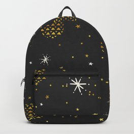 Christmas starry night pattern Backpack