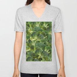 Broccoli Unisex V-Neck