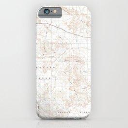 AZ Gila Bend 315256 1981 100000 geo iPhone Case