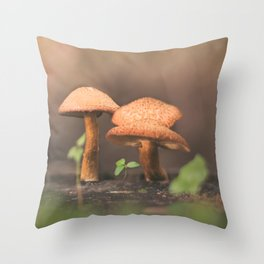 shroomies Throw Pillow