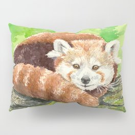 Red panda Pillow Sham