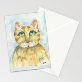 Whisper the Cat Stationery Cards