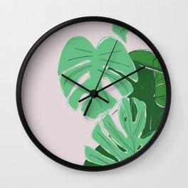 Dull Summer Wall Clock