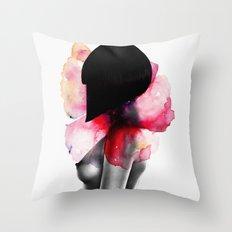 Come Undone Throw Pillow