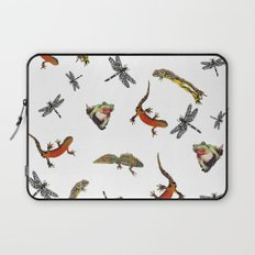 Let's go to the pond Laptop Sleeve